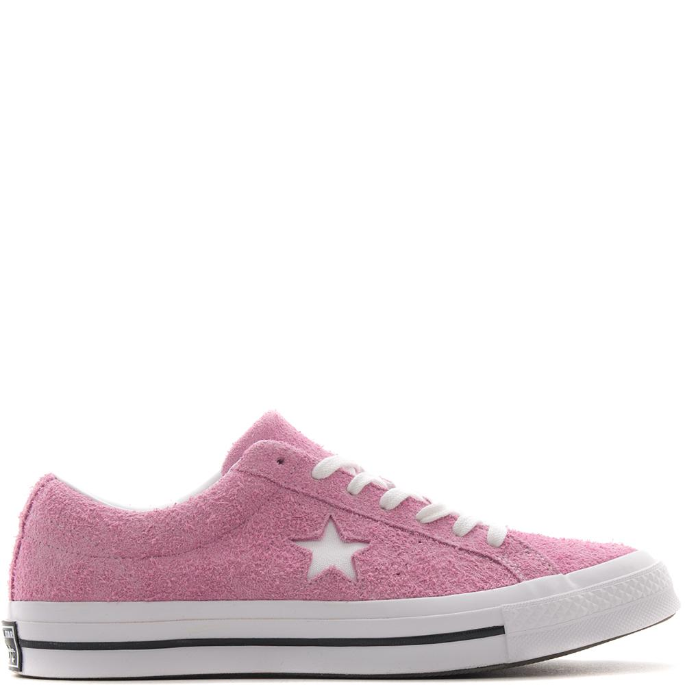 Style code 159492C. CONVERSE ONE STAR OX / LIGHT ORCHID