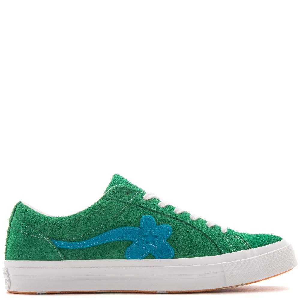 Style code 160322C. CONVERSE ONE STAR X TYLER THE CREATOR / JOLLY GREEN