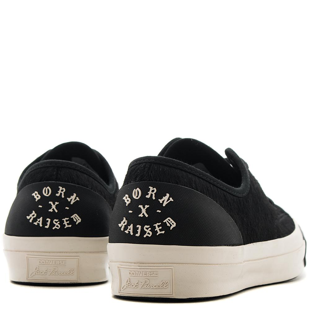CONVERSE GOLD STAR X BORN X RAISED JACK PURCELL MODERN / BLACK