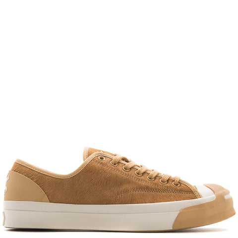 Style code 160787C. CONVERSE GOLD STAR X BORN X RAISED JACK PURCELL MODERN / CAMEL