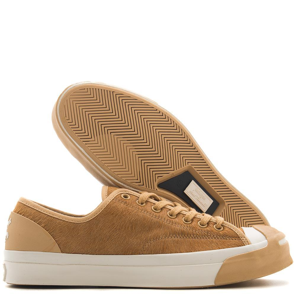 CONVERSE GOLD STAR X BORN X RAISED JACK PURCELL MODERN / CAMEL