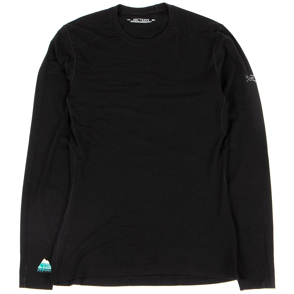 Style code 16270LVSTK. Livestock Run Kit Satoro AR Crew Long Sleeve / Black