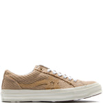 Style code 163169C. Converse Incubate x Golf Le Fleur One Star / Curry