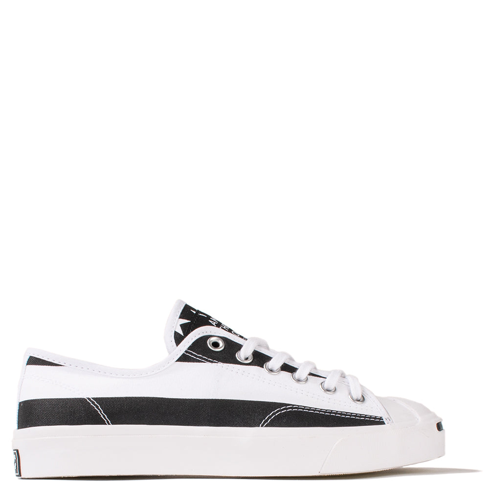 Converse x The Soloist Jack Purcell Ox White / Black - White - Deadstock.ca