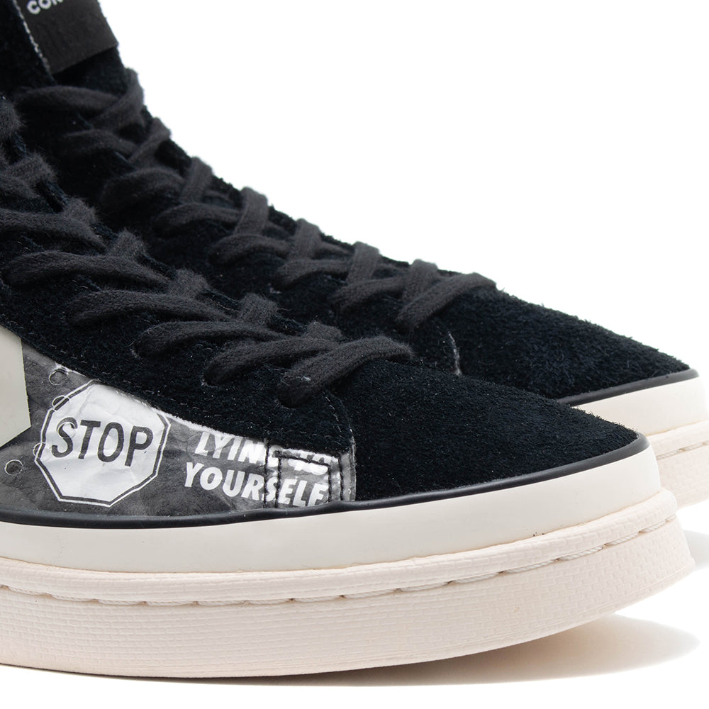 Converse x Pleasures Pro Leather Mid / Black