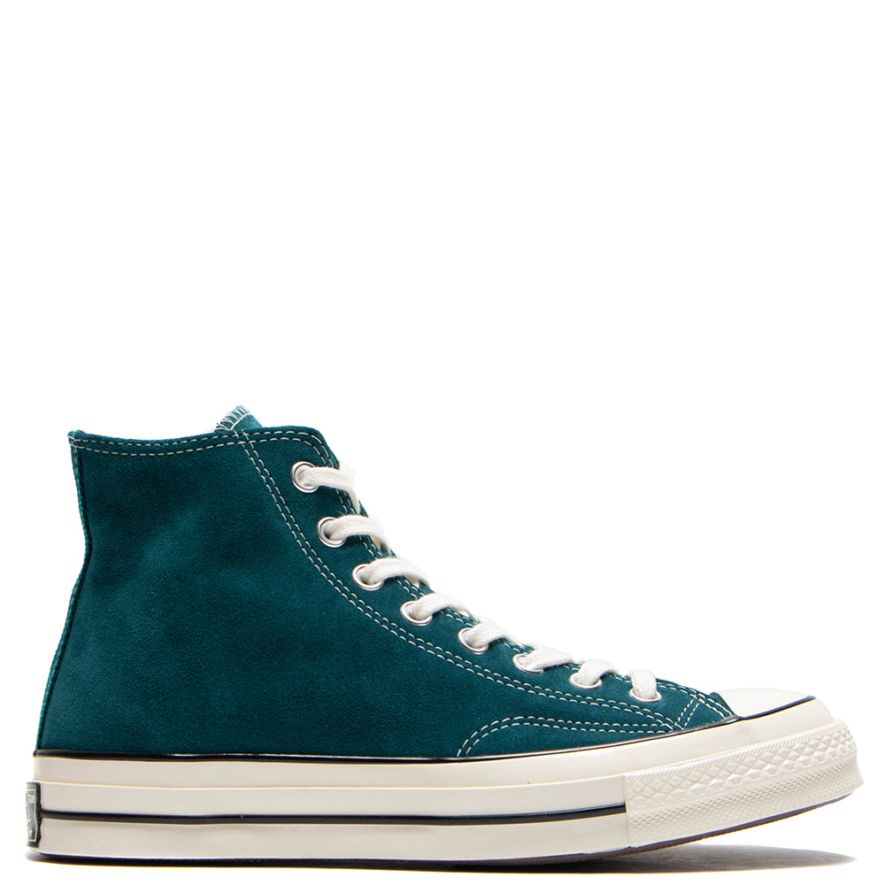 Converse Chuck 70 Suede Hi / Midnight Turquoise - Deadstock.ca