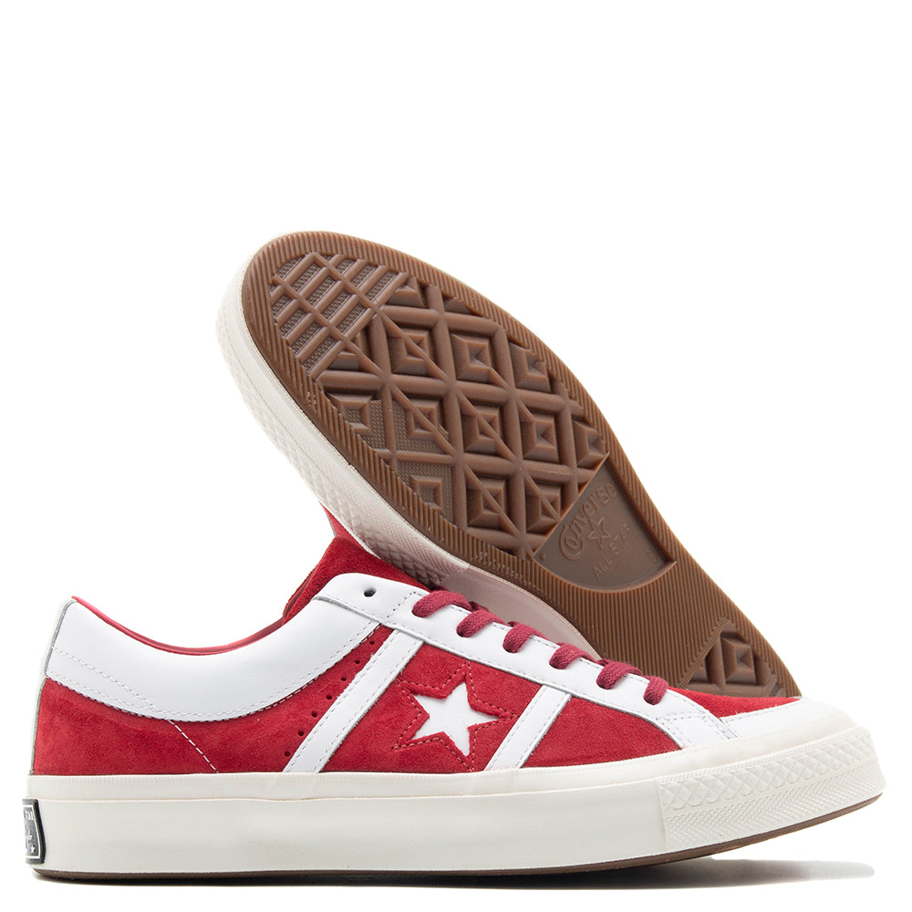 Converse One Star Academy Ivy League Suede / Rumba Red