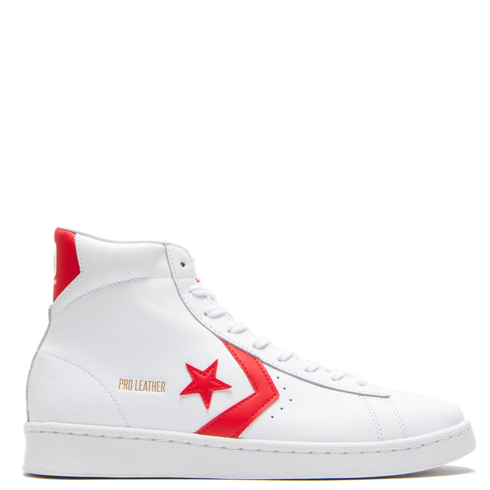 Converse Pro Leather Hi OG White / University Red