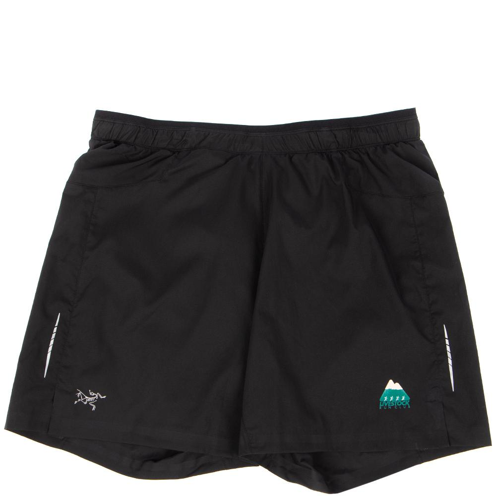 Style code 17149LVSTK. Livestock Run Kit Adan Shorts / Black