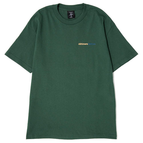 ALLTIMERS AIRLINE T-SHIRT / GREEN