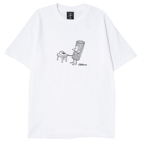 ALLTIMERS FUSILLI T-SHIRT / WHITE