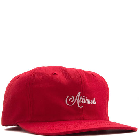 ALLTIMERS CLASSIC HAT / RED