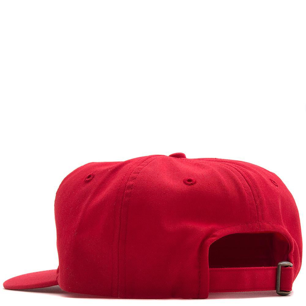 style code 17SP01AP1101RED. ALLTIMERS CLASSIC HAT / RED