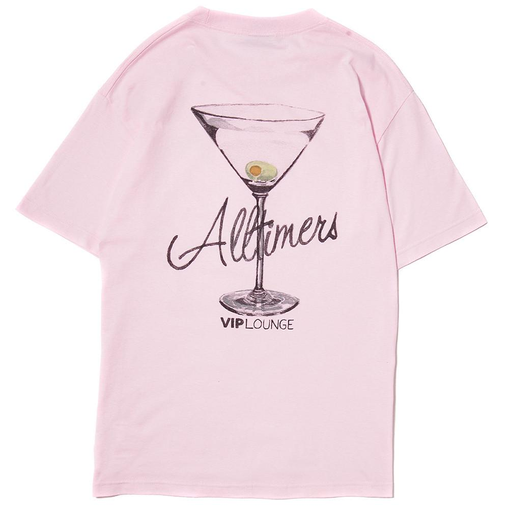 ALLTIMERS WATERCOLOR LOGO T-SHIRT / PINK - Deadstock.ca
