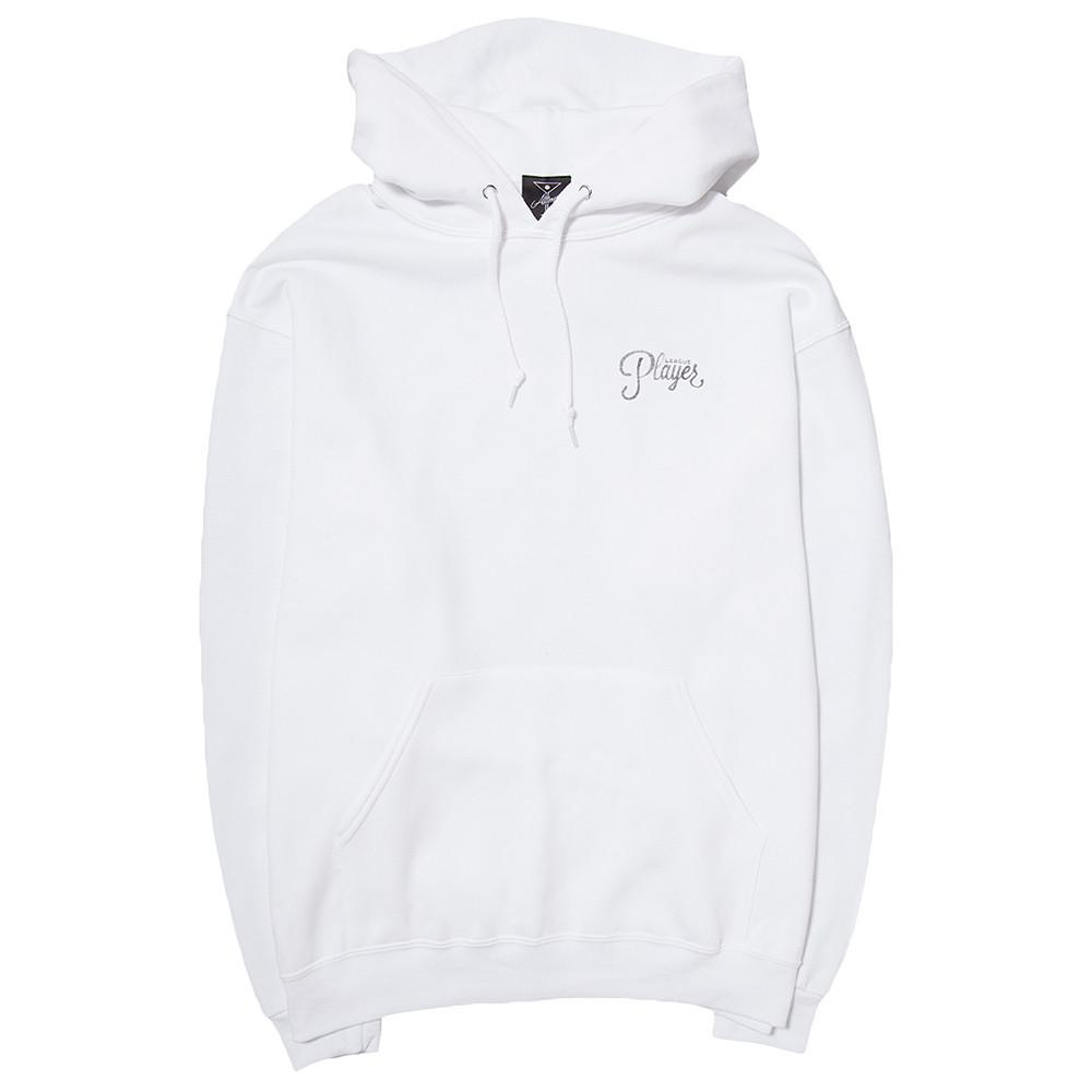 style code 17SP02AP0401WHT. ALLTIMERS WATERCOLOR LOGO HOODY / WHITE