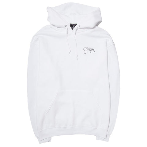 ALLTIMERS WATERCOLOR LOGO HOODY / WHITE