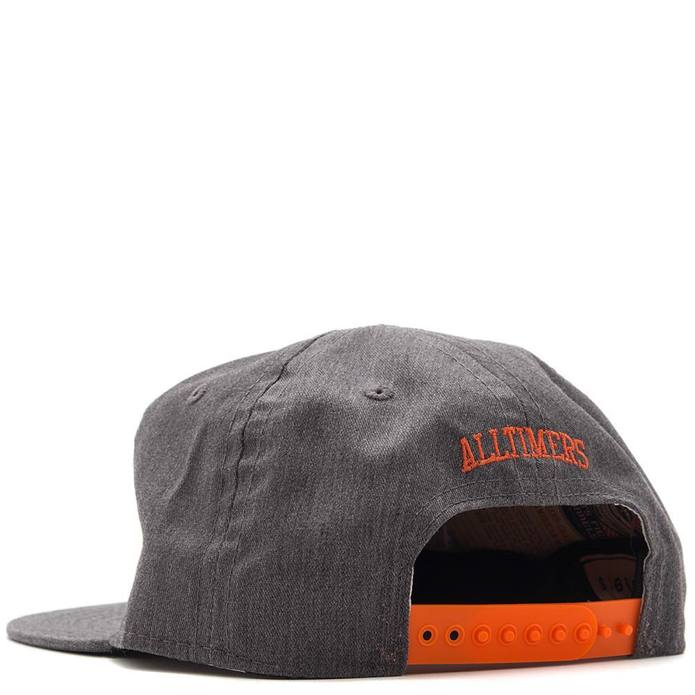 style code 17SP02AP1104GRY. ALLTIMERS CRITICS EBBETS HAT / GREY