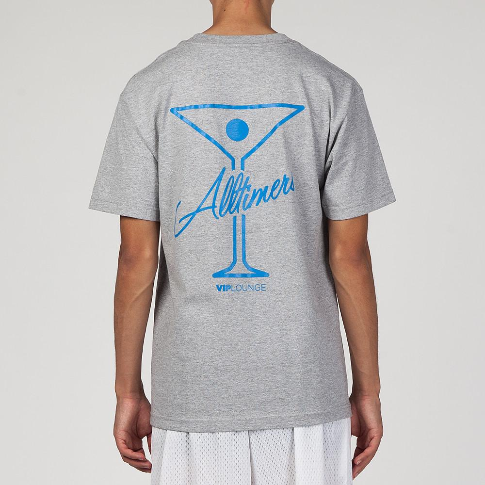 style code 17SU01AP0201GRB. ALLTIMERS LEAGUE PLAYER T-SHIRT GREY / ROYAL BLUE