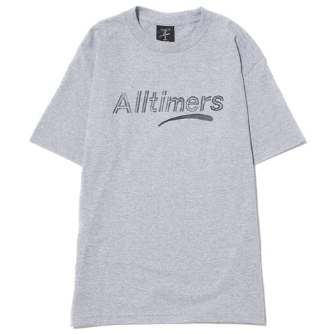 style code 17SU01AP0203GRY. ALLTIMERS ESTATE WATER COLOR T-SHIRT / GREY
