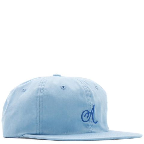 style code 17SU01AP1101BBL. ALLTIMERS CLASSIC A HAT / BABY BLUE
