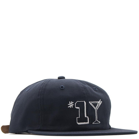 style code 17SU01AP1104NVY. ALLTIMERS #1 TINI HAT / NAVY