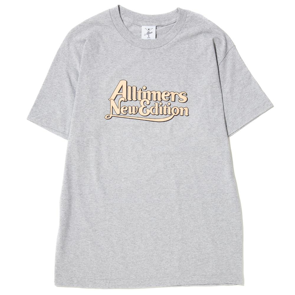 Alltimers New Edition T-Shirt / Heather Grey