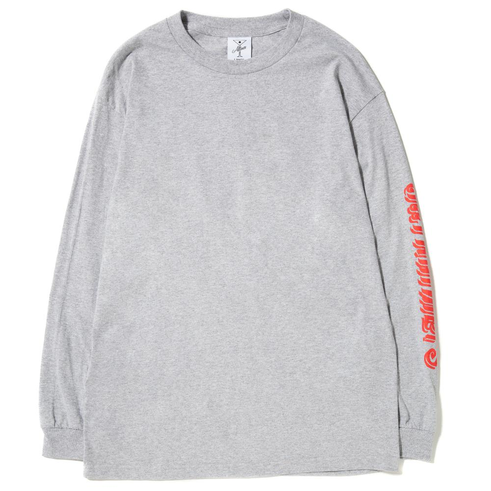 style code 17FA01AP0212HEA. ALLTIMERS ALL THAI LONG SLEEVE T-SHIRT / HEATHER GREY
