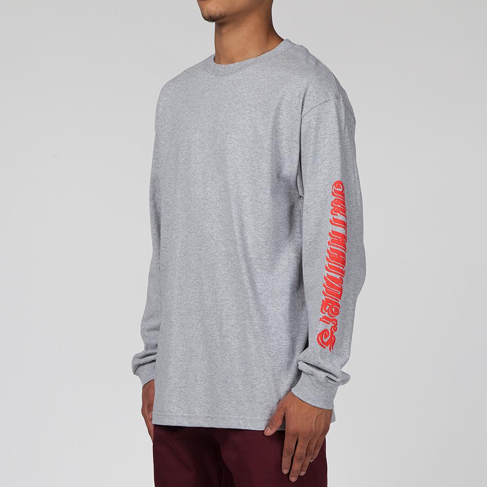 ALLTIMERS ALL THAI LONG SLEEVE T-SHIRT / HEATHER GREY
