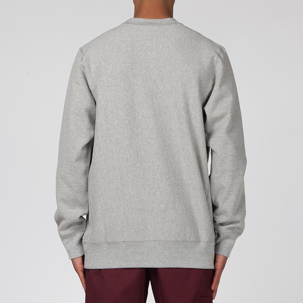 ALLTIMERS LATE SHOW PREMIUM CREWNECK / HEATHER GREY
