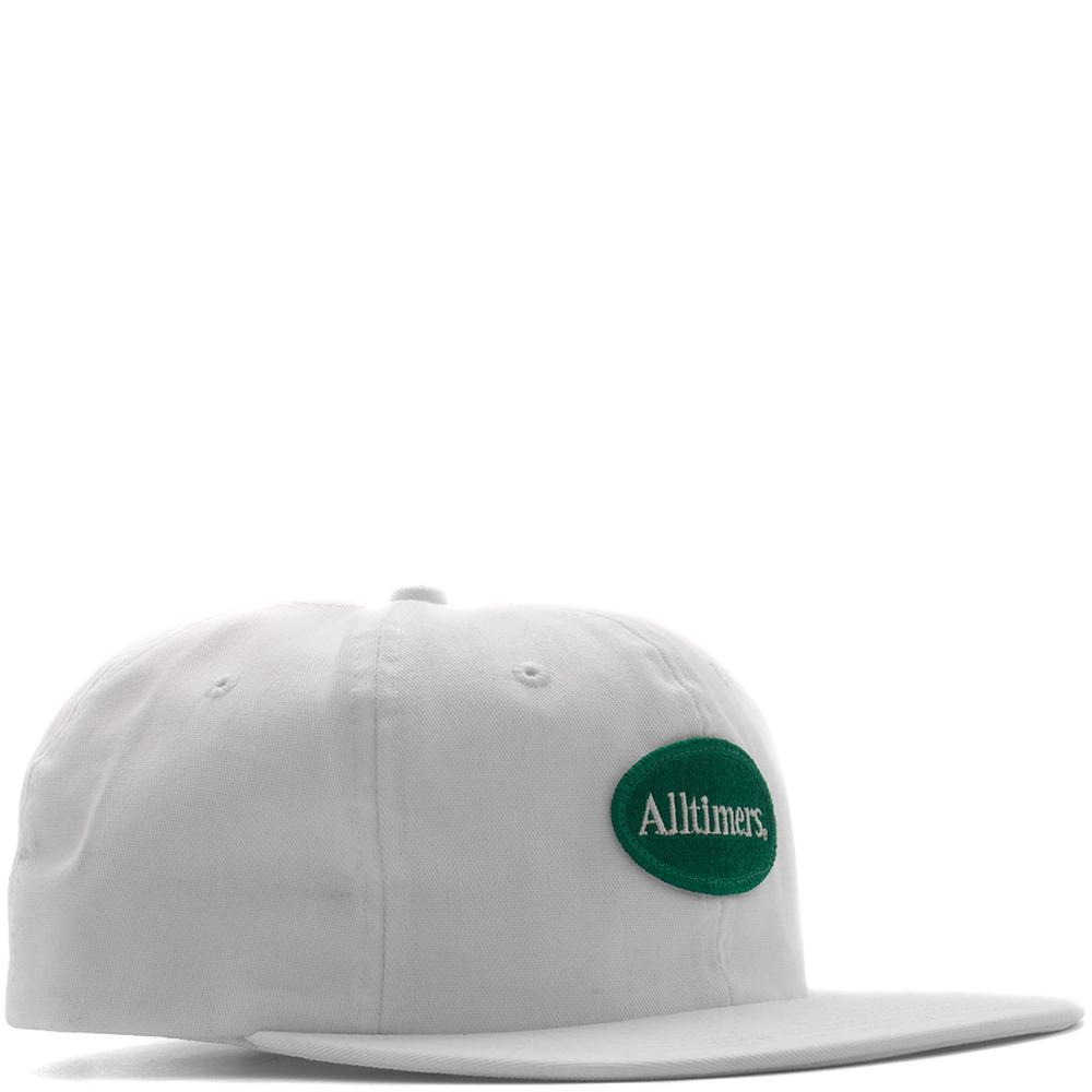 style code 17FA01AP1108WHT. ALLTIMERS SIMPLE HAT / WHITE