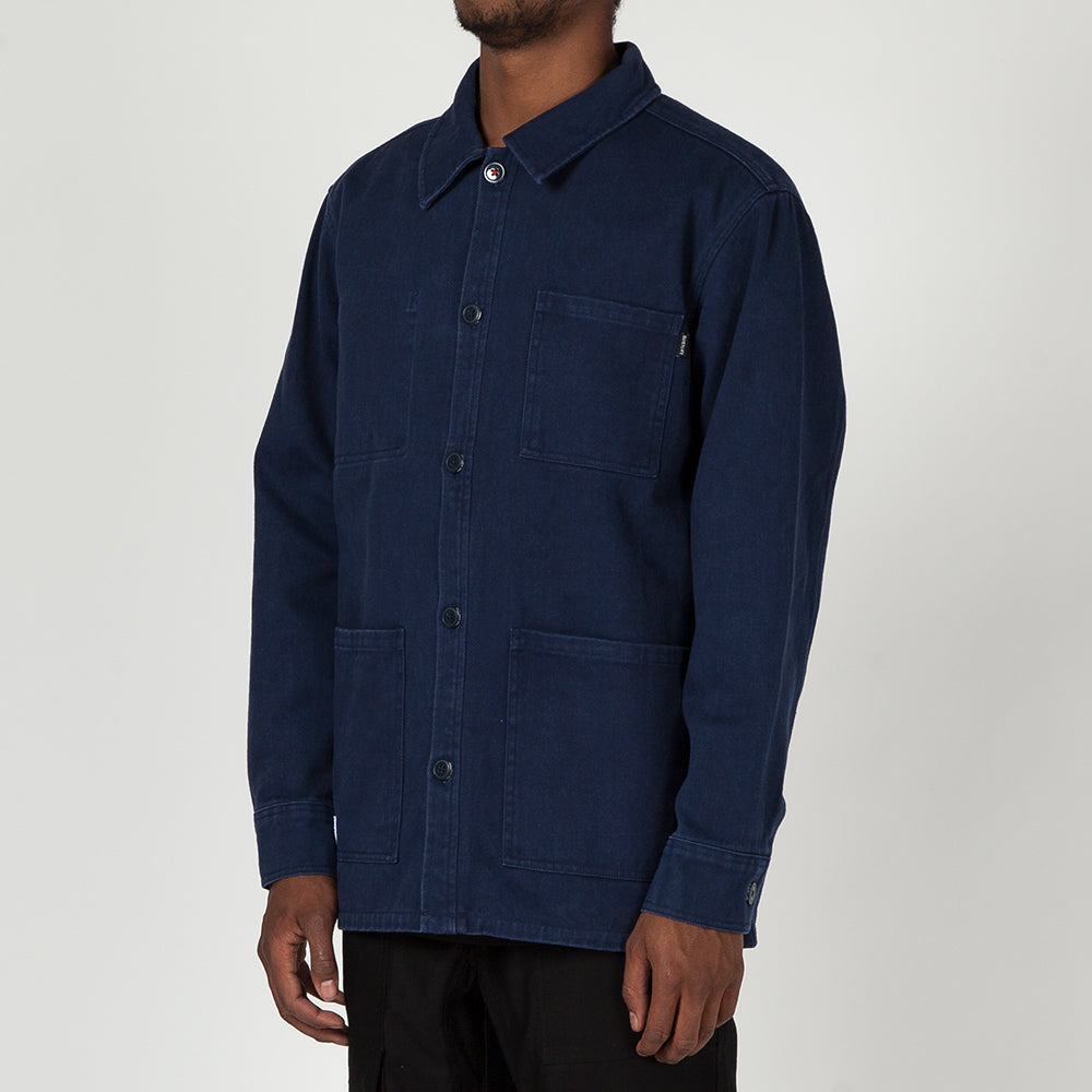QUIET LIFE CARLOS JACKET / NAVY