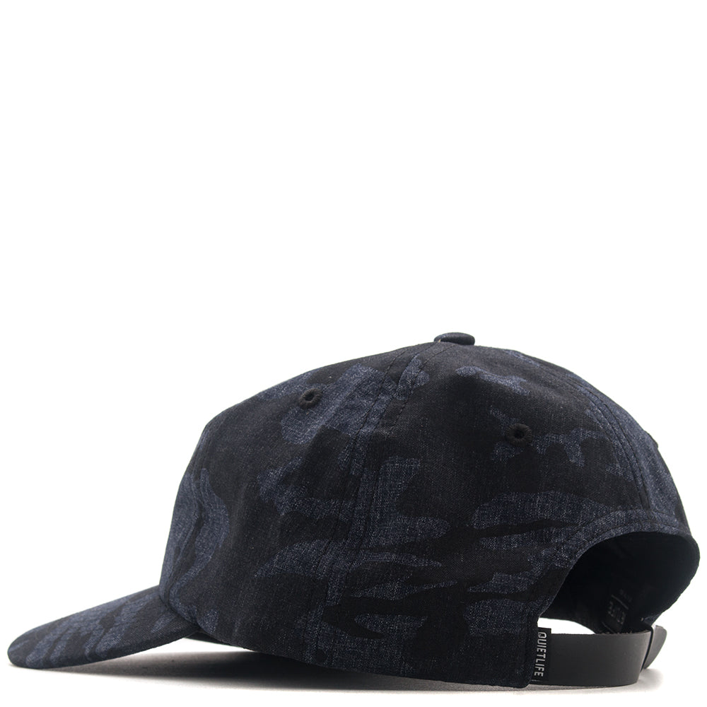QUIET LIFE CAMO POLO HAT / NAVY