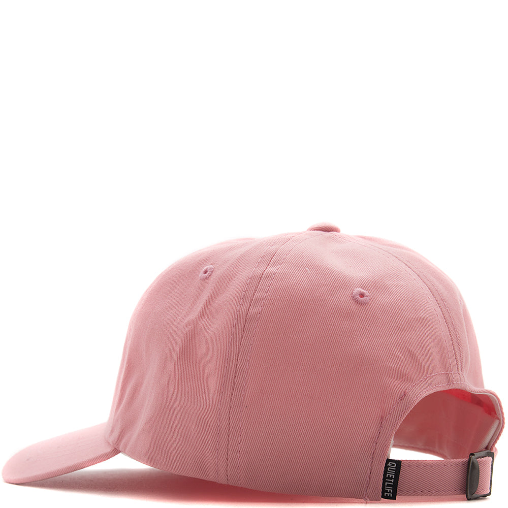 QUIET LIFE ROSE DAD HAT / PINK