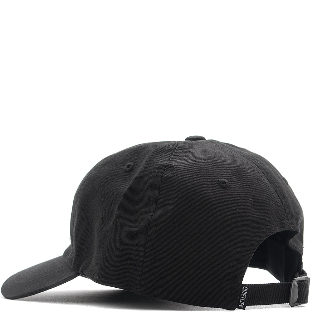 QUIET LIFE ROSE DAD HAT / BLACK