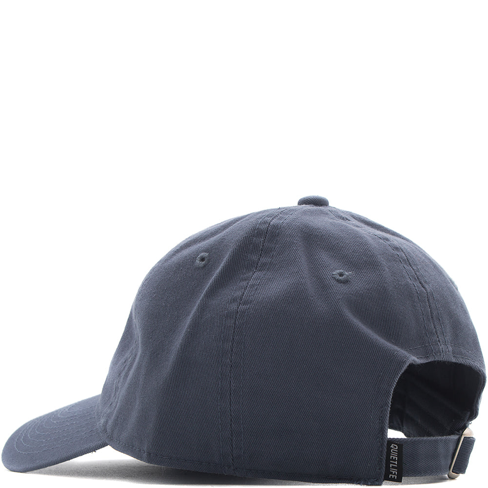 QUIET LIFE SHAKEY CAT DAD HAT / SLATE