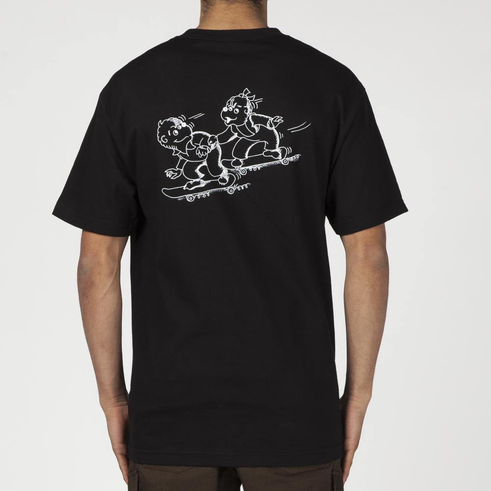 ALLTIMERS XRAY BEARS T-SHIRT / BLACK