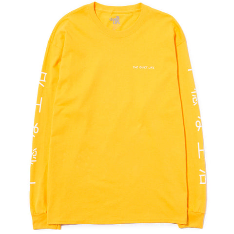 QUIET LIFE JAPAN LONG SLEEVE T-SHIRT / GOLD