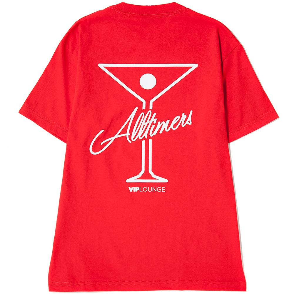 ALLTIMERS LEAGUE PLAYER T-SHIRT RED / WHITE