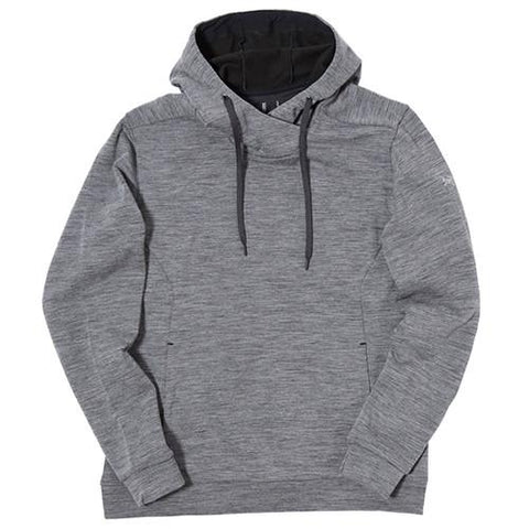ARCTERYX ELGIN PULLOVER HOODY / HEATHER MICA - 1