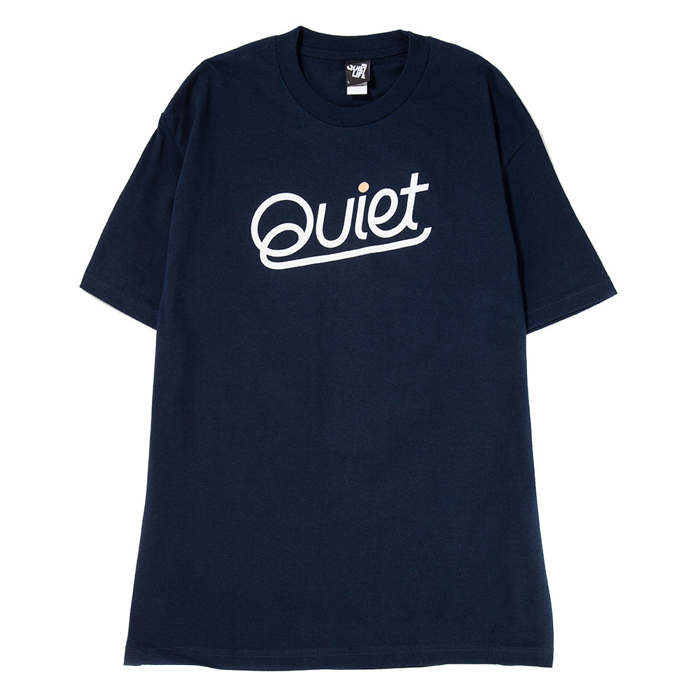 Style code 18FAD11185NVY/ Quiet Life Quiet T-shirt / Navy
