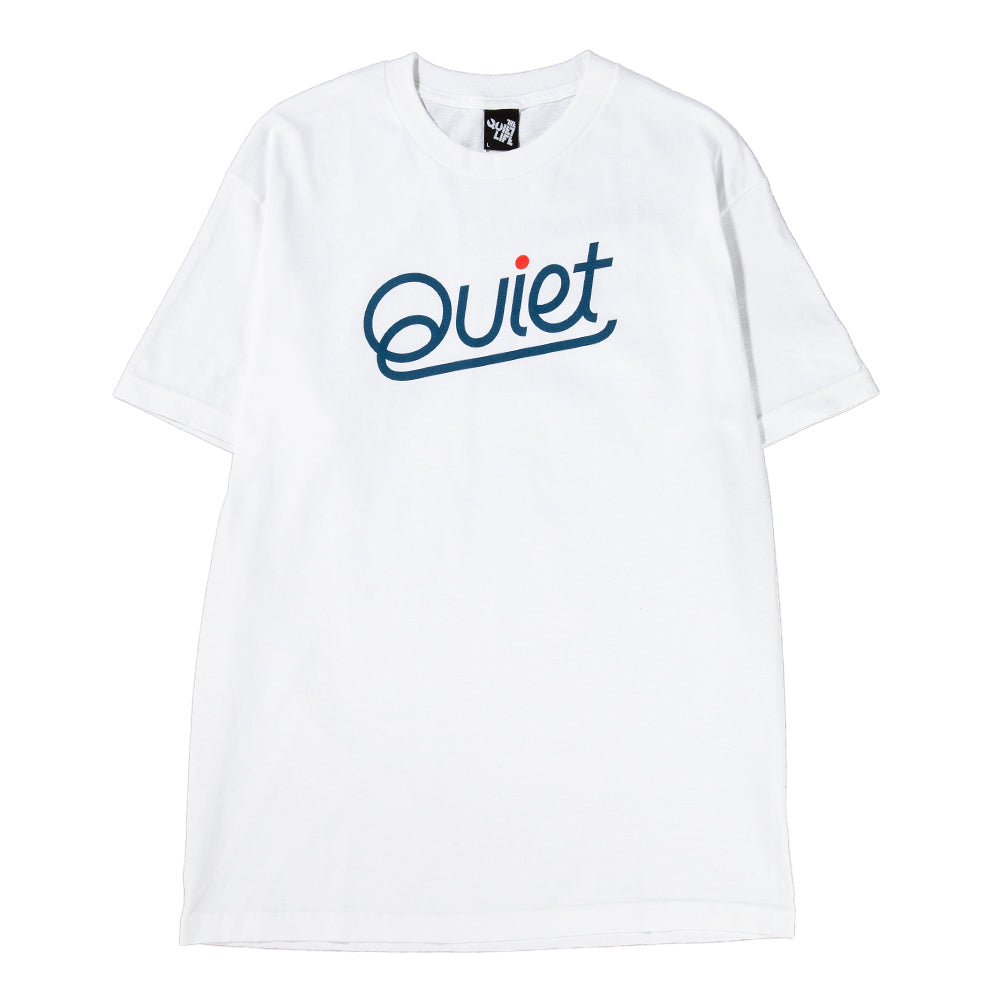 Style code 18FAD11186WHT. Quiet Life Quiet T-shirt / White