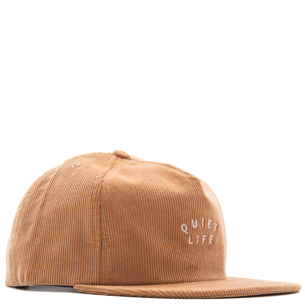 Style code 18FAD11210TAN. Quiet Life Standard Unstructured Snapback / Tan