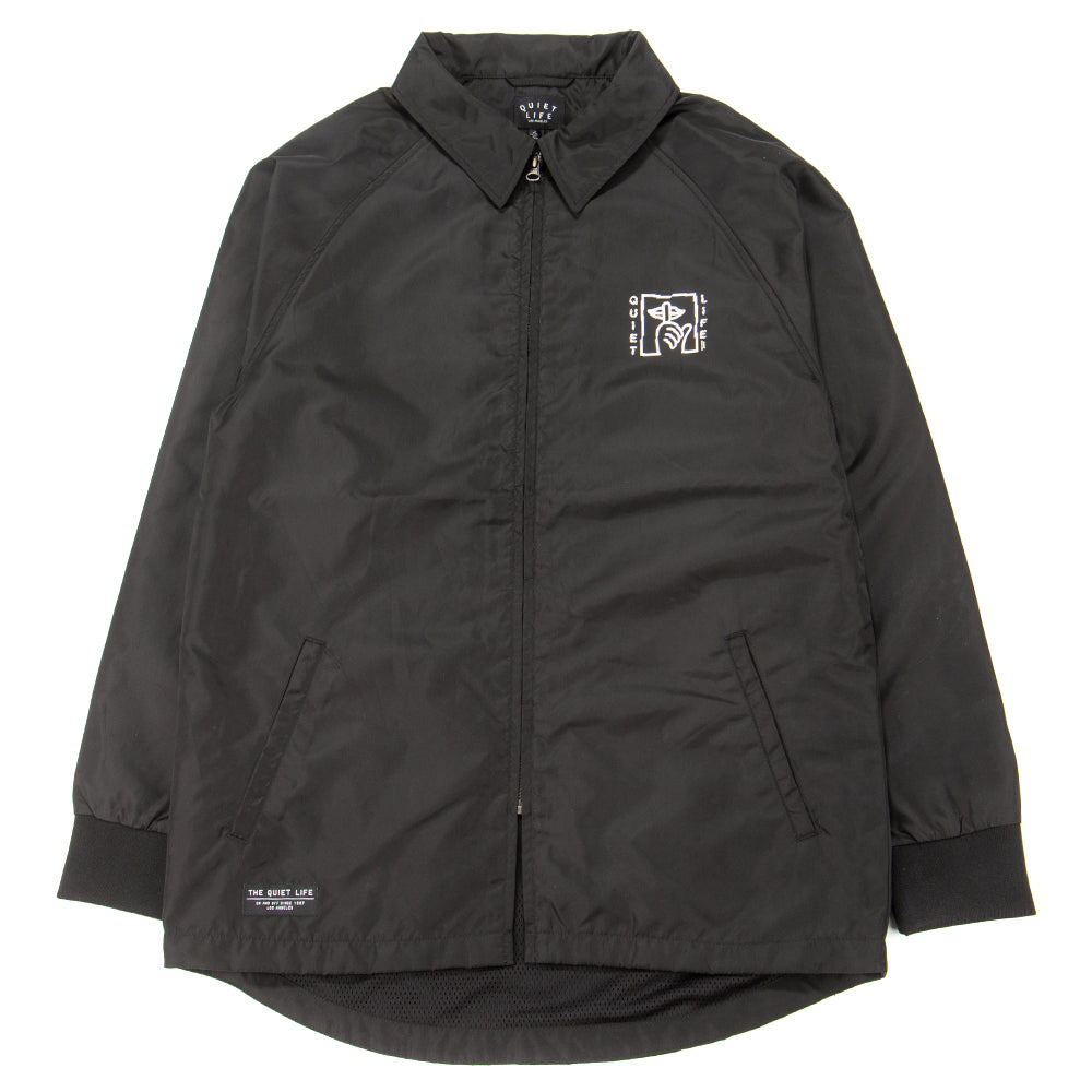 Style code 18FAD22129BLK. Quiet Life Shatter Monsoon Jacket / Black