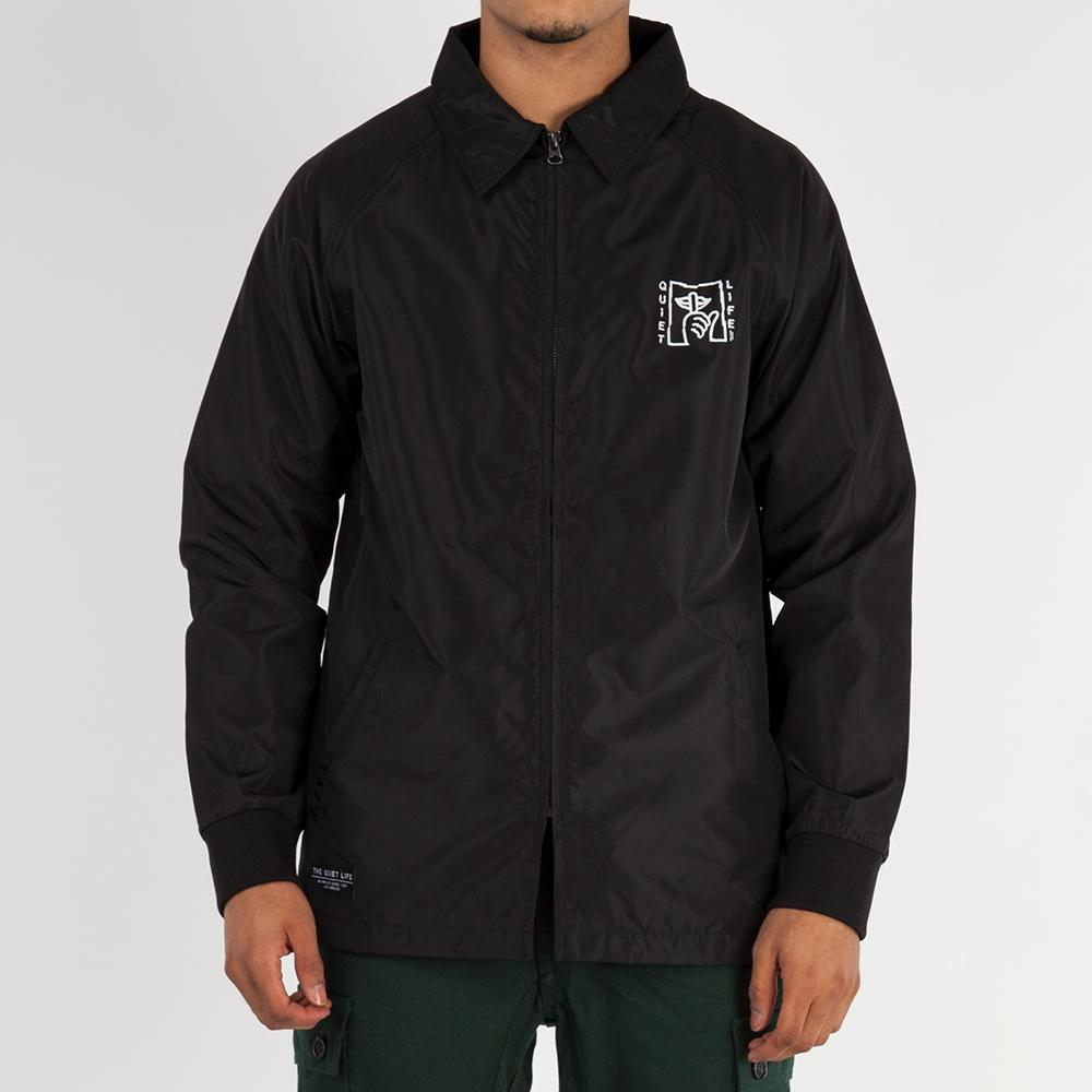 Quiet Life Shatter Monsoon Jacket / Black