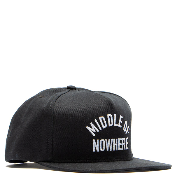 Style code 18FAD22200BLK. Quiet Life Middle Of Nowhere Snapback / Black