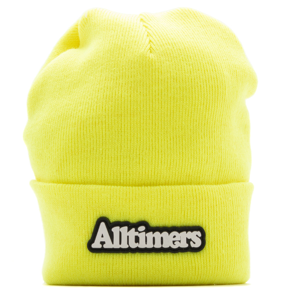 ac041b0fc50 Style code 18HO01AP0101NGN. Alltimers Broadway Rubber Beanie   Neon Green