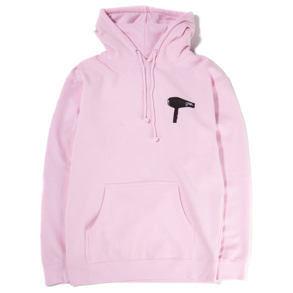 Style code 18HO01AP0402PIN. Alltimers Blow Dry Pullover Hoodie / Cyber Pink