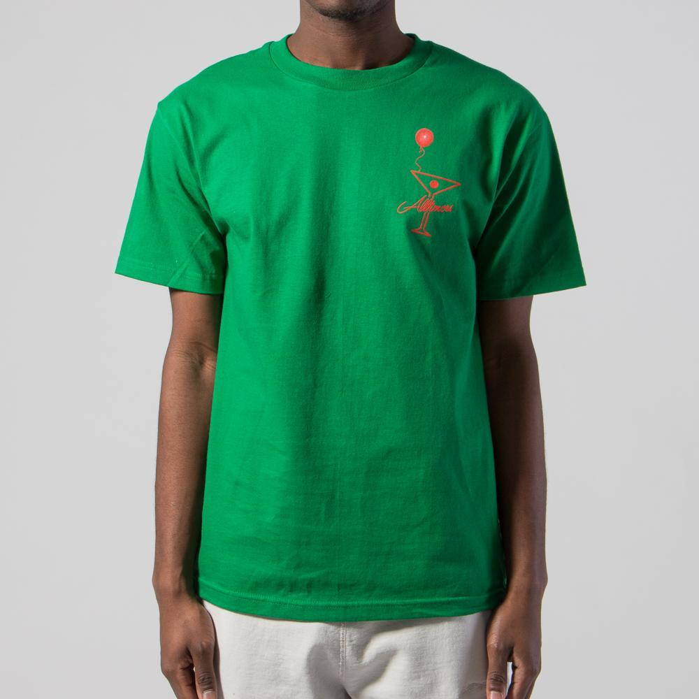 ALLTIMERS HELIUM T-SHIRT / KELLY GREEN