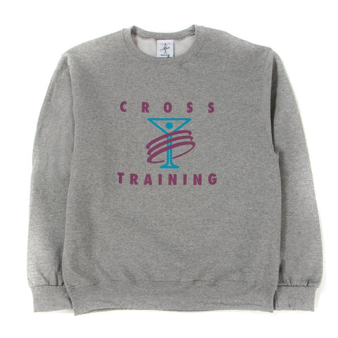 ALLTIMERS TRAINING CREWNECK / HEATHER GREY