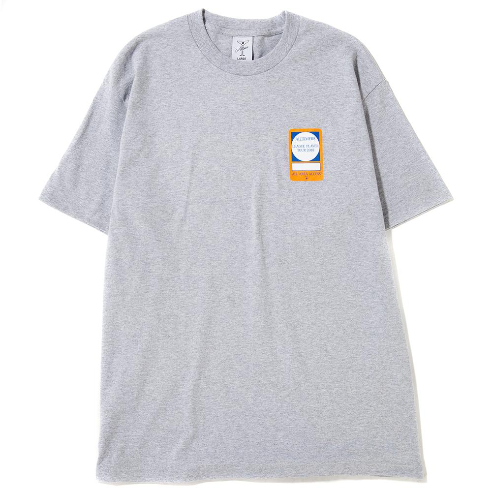Style code 18SP02AP0202HEA. ALLTIMERS PASS T-SHIRT / HEATHER GREY
